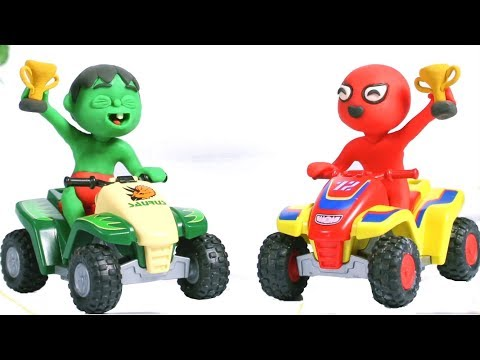 Tommy Won A Motorbike Race 💕Cartoons For Kids