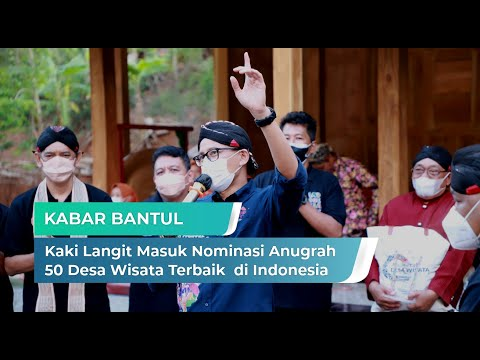 Dewi Kaki Langit Masuk Nominasi Anugerah 50 Desa Wisata Terbaik di Indonesia | Kabar Bantul