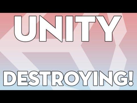 Unity Tutorials - Beginner 04 - Destroying Objects - Unity3DStudent.com