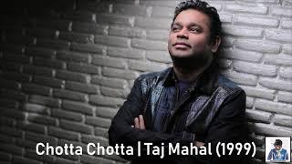 Chotta Chotta   Taj Mahal (1999)   A.R. Rahman [HD]