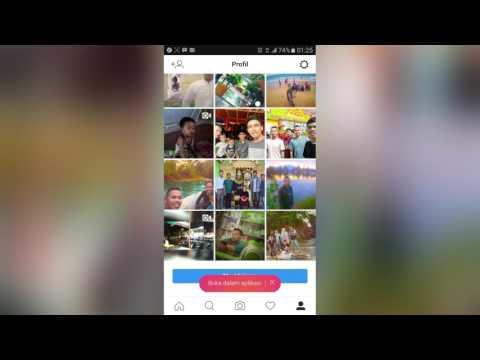 Video Cara Menghentikan Auto Following Instagram Bertambah Sendiri
