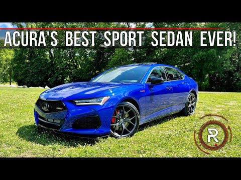 """The 2021 Acura TLX Type S Is A Prominent Sport Sedan Worthy Of The """"Type S"""" Badge"""