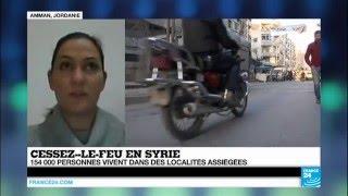 """Cessez-le-feu en SYRIE - """"Un moment d"""