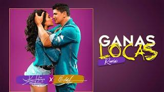 Karen Lizarazo & Eddy Herrera   Ganas Locas Remix (Video Oficial)