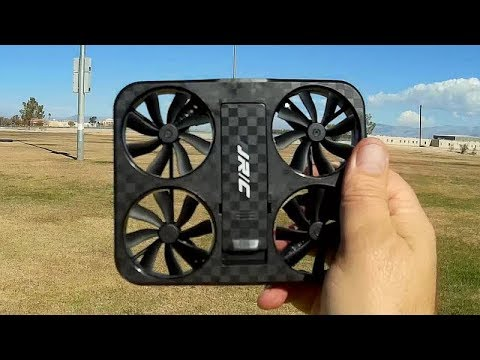 JJRC H59 Ferry 1080p Optical Flow Selfie Drone Flight Test Review