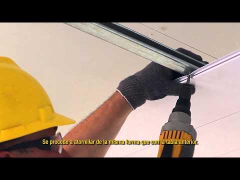 Instalación de un Cielorraso de PVC Perfilplas®