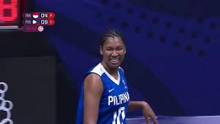 SEA Games 2019: PHL VS INA 3x3 Basketball Women's Preliminary Game (Full)