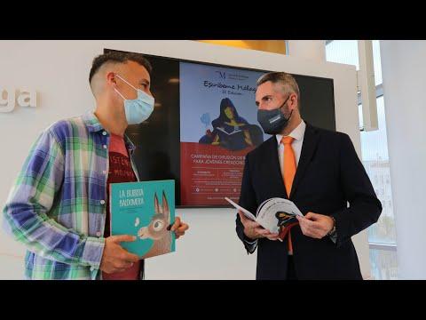 Presentación de la segunda edición de la campaña Escríbeme Málaga y de las actividades relacionadas con el Día del Libro