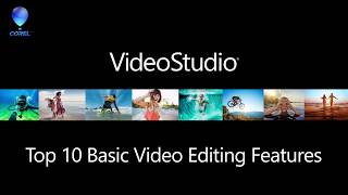 VideoStudio 2018 - Top 10 Basic Editing Features | Kholo.pk