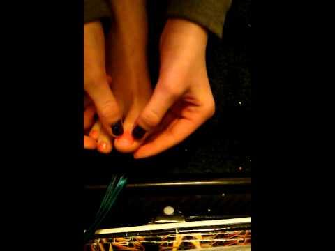 Namumulaklak na nail treatment