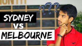 Sydney vs. Melbourne | Where to study in Australia | Melbourne Vibe