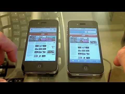 Chrome vs. Safari iPhone 4 iOS 5 Speed Test