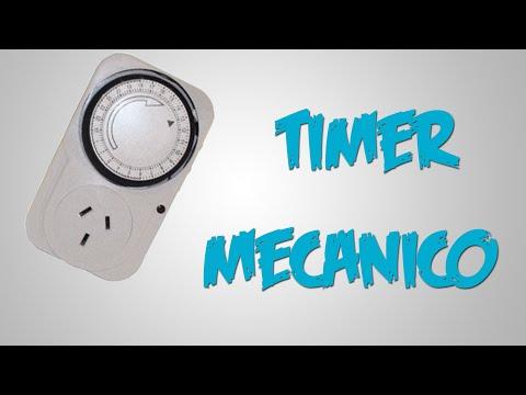 Como usar un TIMER Mecánico   Tutorial   Full HD