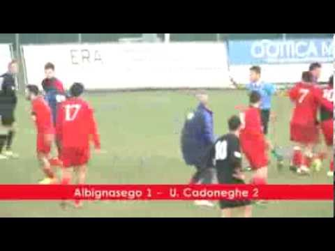 Preview video ALBIGNASEGO - UNIONE CADONEGHE 1-2