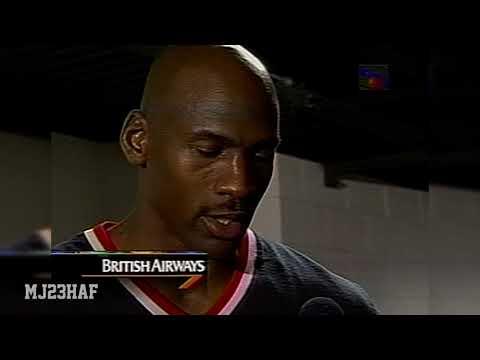 Michael Jordan Post-Game Interview (1997.01.31)