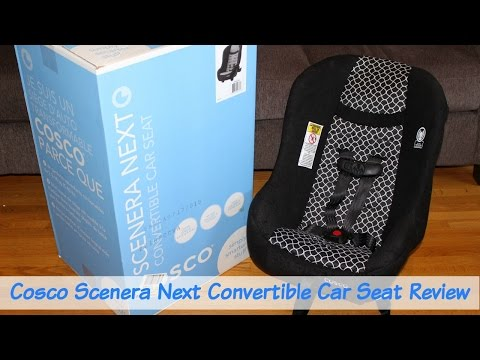Cosco Scenera Next Convertible Car Seat Review
