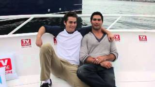 Dylan O'Brien and Tyler Hoechlin: Vote for Teen Wolf on Teen Choice Awards!