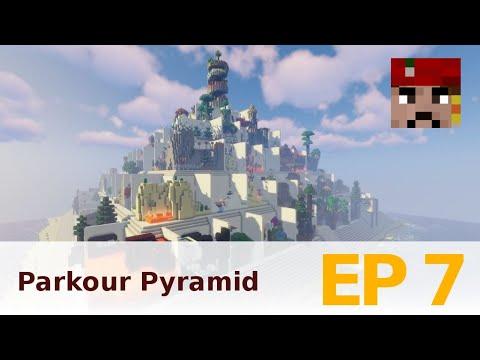 Český Let's Play: Minecraft - Parkour Pyramid EP7 s Challengí