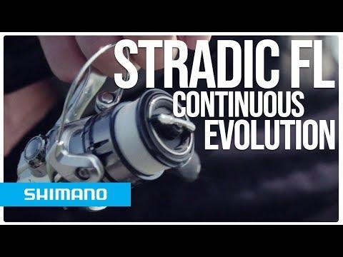 Катушка безынерционная SHIMANO STRADIC 4000FL фото №2
