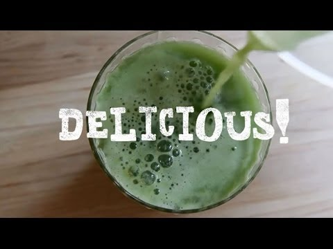 Video Juicing Recipes - How to Make Lemon Apple Juice