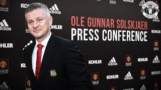 Manchester United   Ole Gunnar Solskjaer   Press Conference