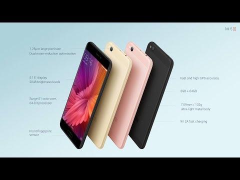 Встречайте Xiaomi Mi5c. Ультралегкий и ультратонкий
