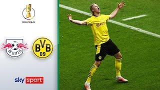 RB Leipzig - Borussia Dortmund   Highlights - DFB-Pokal 2020/21   Finale