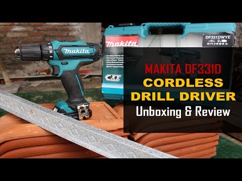 Makita DF331D Cordless Drill Review & Test