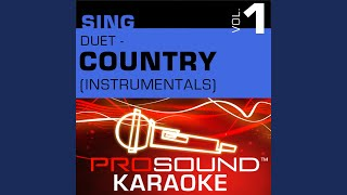 What If I Said (Karaoke Instrumental Track) (In the Style of Tammy Cochran & Anita & Steve Wariner)