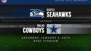 Dallas Cowboys Vs. Seattle Seahawks NFL Wild Card Round Playoff