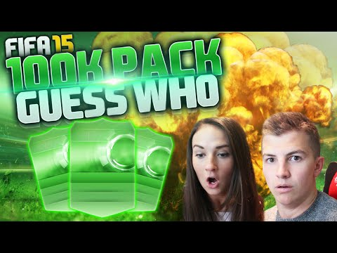 FIFA 15 GUESS WHO w/AMY! OMFG 100K PACKS!