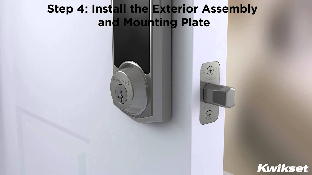 SmartCode 915 Touchscreen Electronic Deadbolt Installation Video