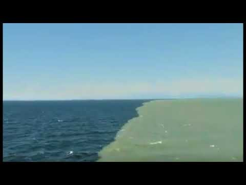 Wow! A Few Areas Around the Globe Where The Waters Don't Mix Well