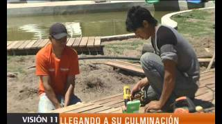 preview picture of video 'OBRAS DEL PARQUE ACUÁTICO'