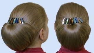 Прическа Бабетта как Сделать Своими Руками Видео Урок| Quick Hairstyle Babette|Tutorial