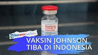 Untuk Pertama Kalinya Indonesia Kedatangan Vaksin Johnson Hasil Hibah dari Belanda