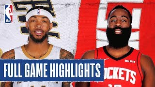 PELICANS at ROCKETS | FULL GAME HIGHLIGHTS | February 2, 2020