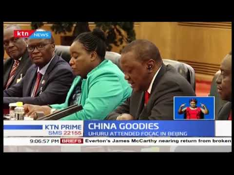 The deals that Kenya secured from China