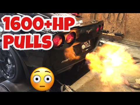 THE MOST INSANE DYNO PULLS OF 2018 - Cars Shooting Massive Flames !!! 1600hp