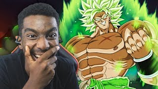 Dragon Ball Super Broly SDCC 2018 Trailer LIVE REACTION!