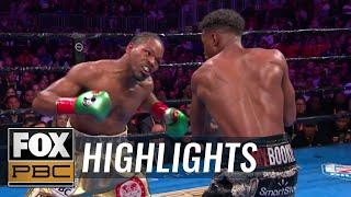 Errol Spence Jr. vs. Shawn Porter Welterweight title fight   HIGHLIGHTS   PBC ON FOX