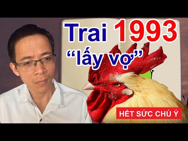 Trai 1993 Quý Dậu HẾT SỨC LƯU Ý khi lấy vợ kết hôn với tuổi này- Phong thủy người Việt