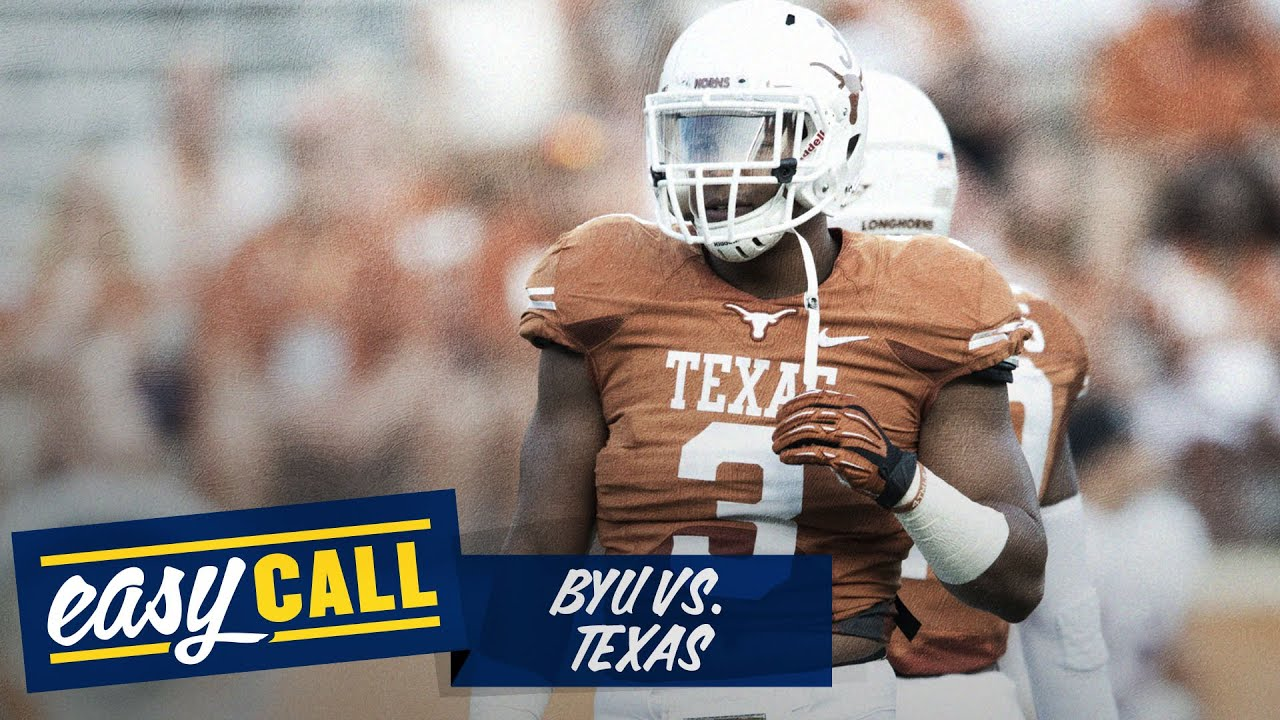 BYU vs. Texas 2014 preview, odds, keys, score prediction (Easy Call) thumbnail