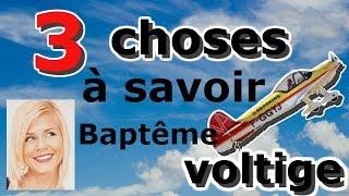 Baptême voltige: 3 choses à savoir