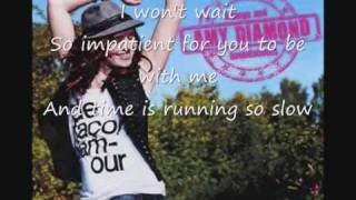 Amy diamond Fast forward (lyrics)