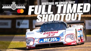 Full Timed Shootout: Goodwood #FOS 2017