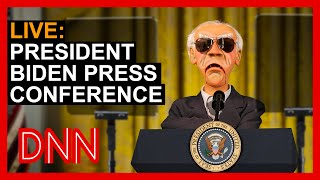 LIVE: President Biden Press Conference   JEFF DUNHAM