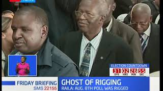 GHOST OF RIGGING: Rigging claims after every poll