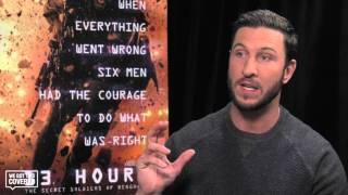 Exclusive Interview: Pablo Schreiber Talks 13 Hours: The Secret Soldiers Of Benghazi [HD]