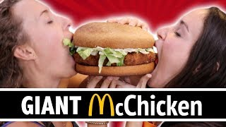 DIY GIANT McCHICKEN - FEAT. OWNAGE PRANKS